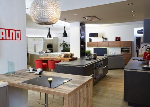 View appliances within a kitchen settting