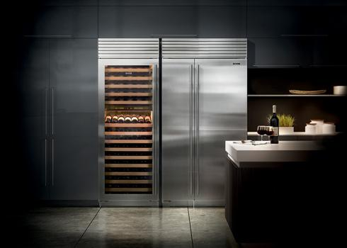 Sub-Zero & Wolf fridge and wine storage