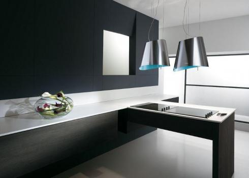 An Elica cooker hood from the Colour range