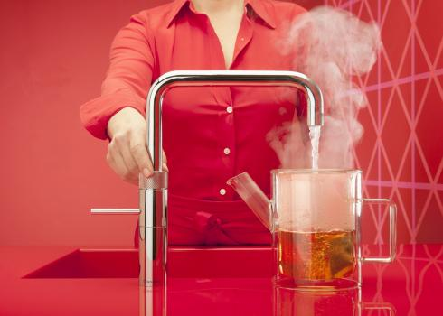 Fuss-free tea from the Quooker Fusion