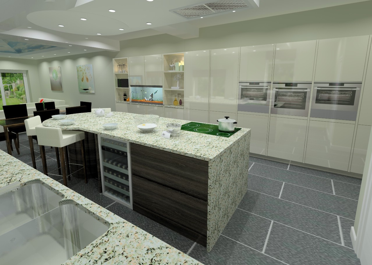 Computer Kitchen Design We Work Closely With You To Make Your Dream Kitchen A Reality