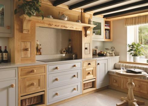 Charles Yorke Kelham kitchen