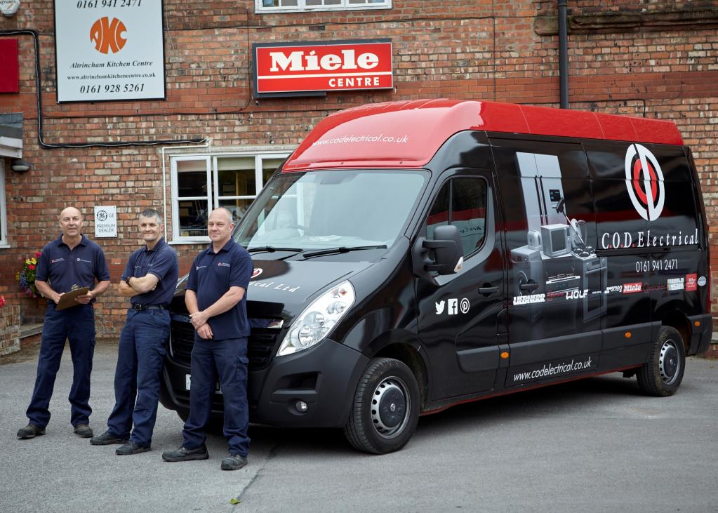The warehouse and delivery team